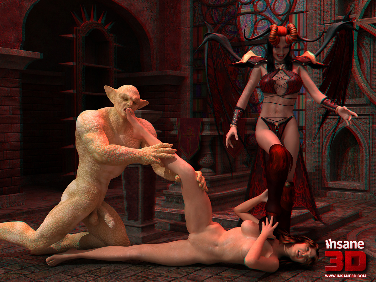 3d demon women with long tounge porn erotic picture