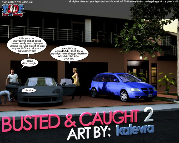Busted and Caught 2  [Your3DFantasy.com]