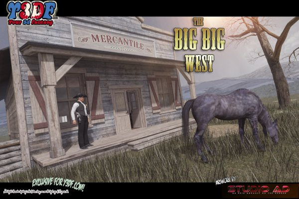 The Big Big West [Your3DFantasy.com]