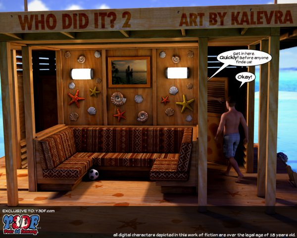 Who Did It 2 [Your3DFantasy.com]