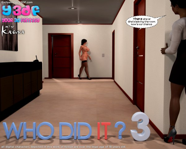 Who Did It 3 [Your3DFantasy.com]