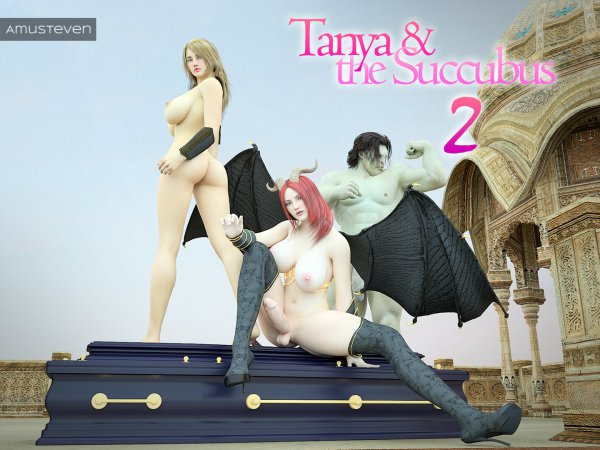 Tanya & The Succubus 2 - Deluxe Edition [Affect3D.com]
