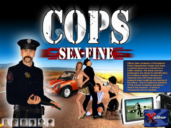 Cops. Part 1: Sex-Fine! [Ultimate3dporn.com]