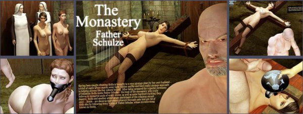 The Monastery: Father Shulze [3Dbdsmdungeon.com]