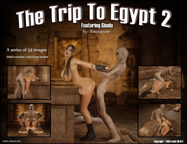 The Trip to Egypt 2 [BlackAdder]