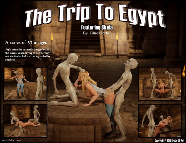 The Trip to Egypt [BlackAdder]