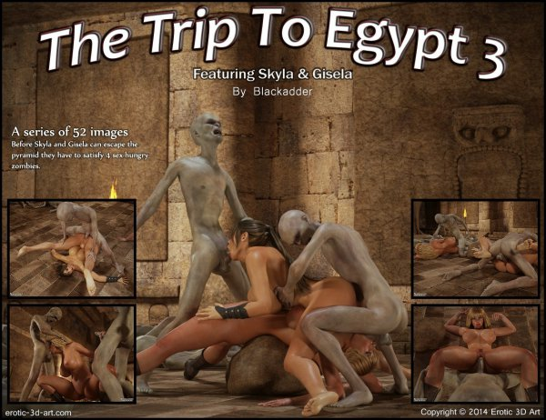 The Trip to Egypt 3 [BlackAdder]