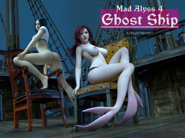 Mad Alyss 4: Ghost Ship [Affect3D.com]