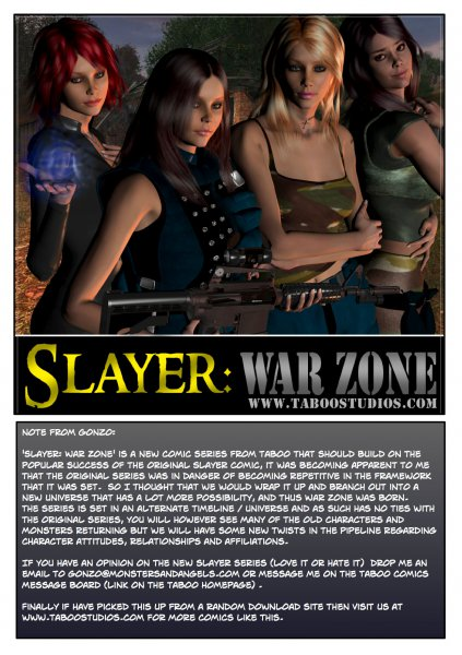 Slayer War Zone (Part 1-10) [taboostudios.com]