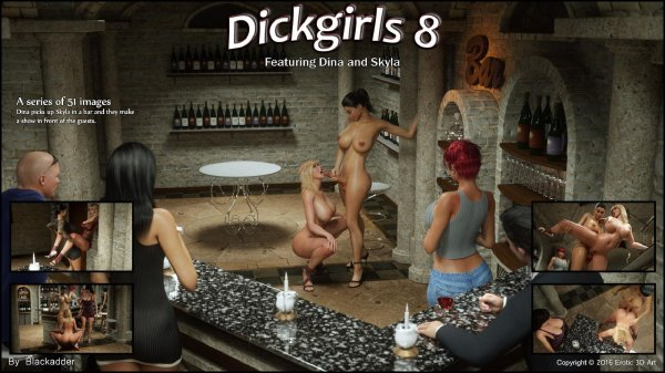 Dickgirls 08 [Blackadder]