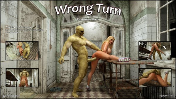 Wrong Turn [Blackadder]