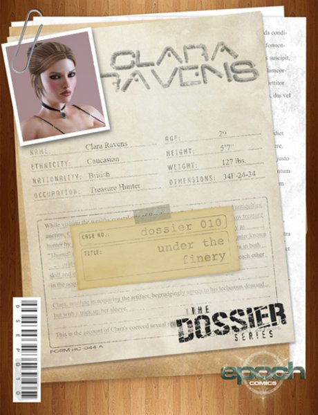 The Dossier 010 - Under The Finery [epoch-art.com]