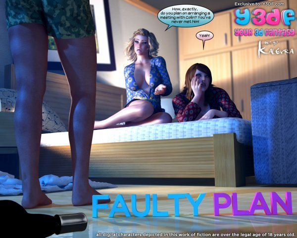 Faulty Plan [Your3DFantasy.com]