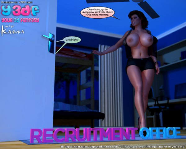 Recruitment Office [Your3DFantasy.com]