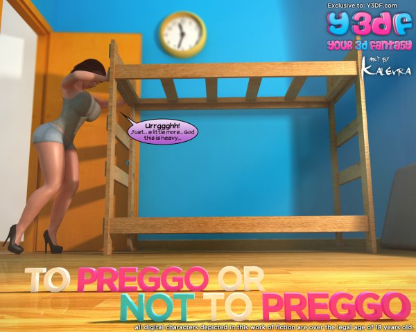 To Preggo or Not to Preggo [Your3DFantasy.com]